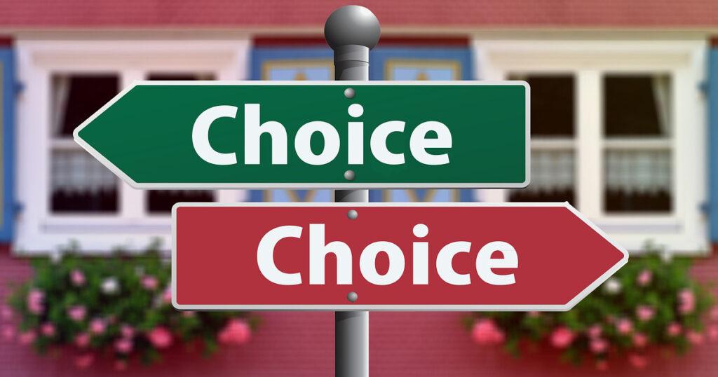 ビジネスラインを張ってお客様に選択権を与える