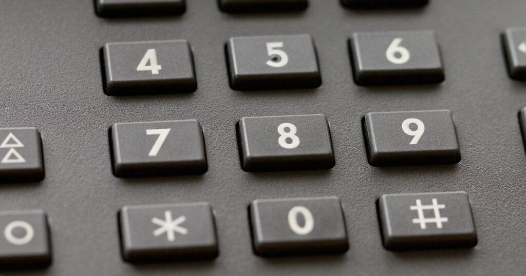 電話のボタンにある「#」はシャープではなくハッシュタグ